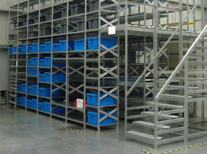 estanteria 2 niveles