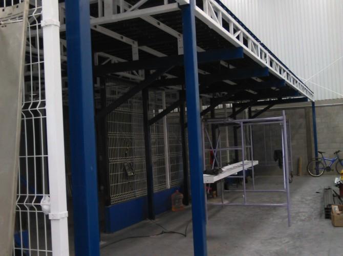 mezzanine racks